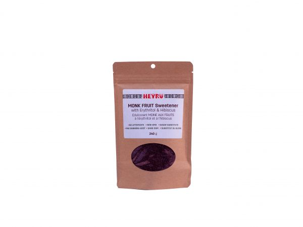 Monk Fruit Sweetener With Erythritol & Hibiscus
